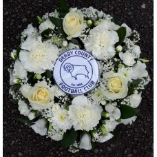 Derby County Wreath