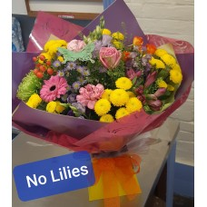 No Lilies flowers.