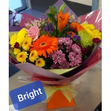 Bright colour flowers
