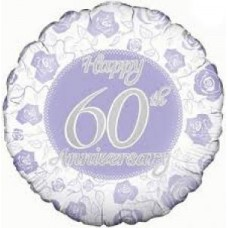 Diamond Anniversary Balloon