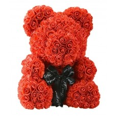 Foam Rose Bear (various colours)
