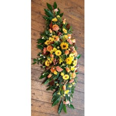 Autumn Double Ended Coffin Spray