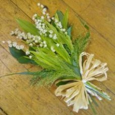 Lily Of The Valley Tied Spray