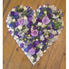 Heart Mixed Purple Tribute